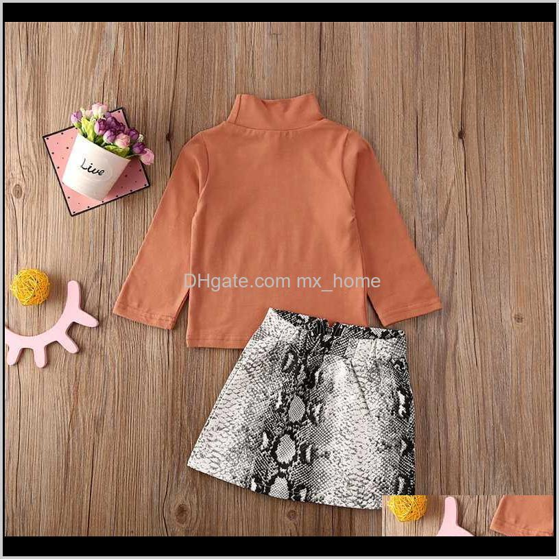 2020 toddler girl clothes spring autumn children clothing high quality long sleeve top skirt kids clothes for girls costume