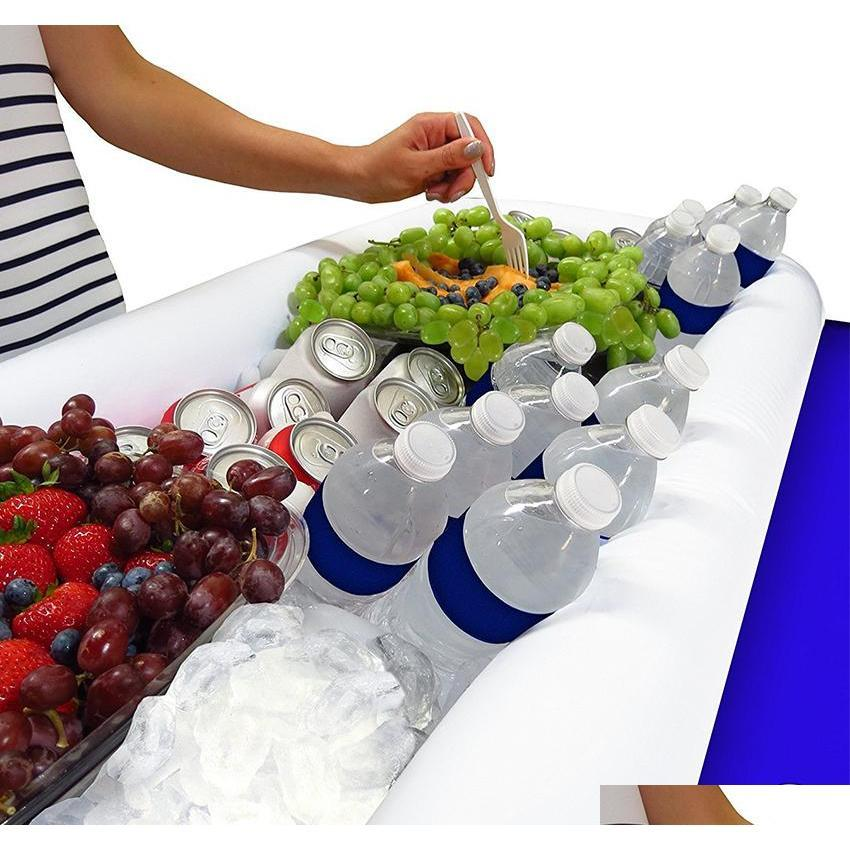 summer party inflatable salad bar buffet ice bucket outdoor swimming pool decoration supplies toy fun gift wedding birthday