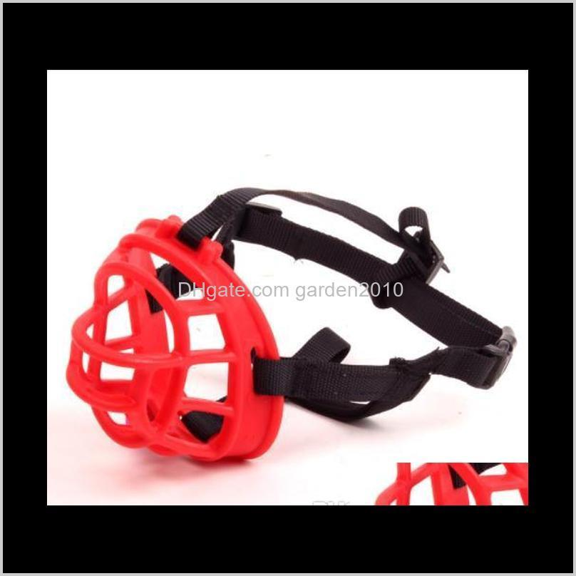 Sales!!! Wholesales Free shipping New Silicone Dog Mouth Covers Pet Masks Dog Supplies Wholesale Anti-Bite Anti-barking Stopper Pet