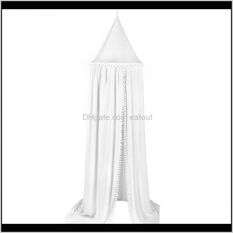 Cotton Baby Canopy Mosquito Net Anti Mosquito Princess Bed Canopy Girls Room Decoration Bed Pest control Reject Net