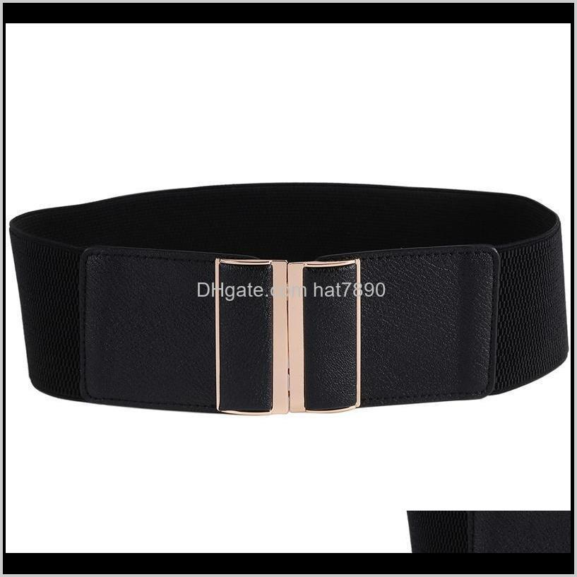 7.5 Cm Wide Womens Elastic Stretch Cinch Tail Lady Cummerband Ny Zacht Rond Taille Band Simple Femme Jurk Belt