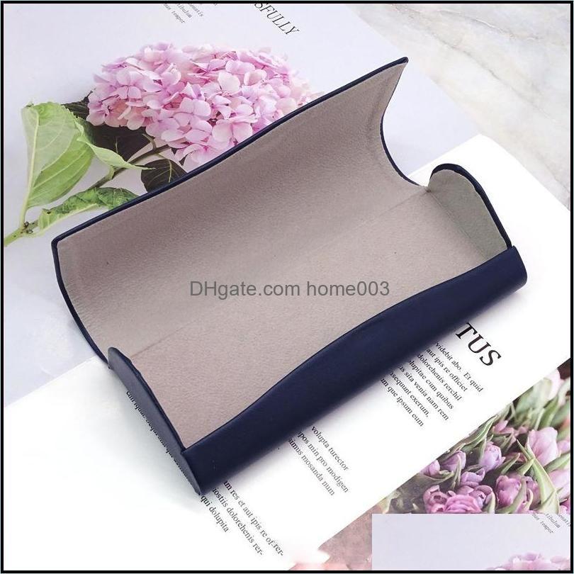 Fashion Leather Soft Glasses Cases Portable Sunglasses Box Accessories Eyeglasses Case