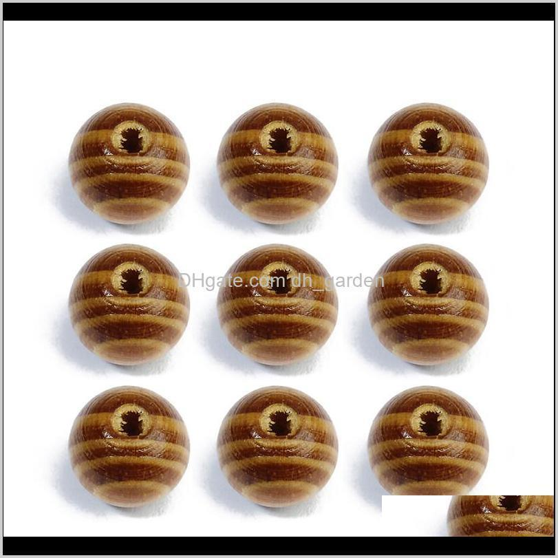 xinyao 100pcs 6/8/10/12/14mm round natural pine wooden bead loose unfinished wood beads for diy jewelry making houten kralen