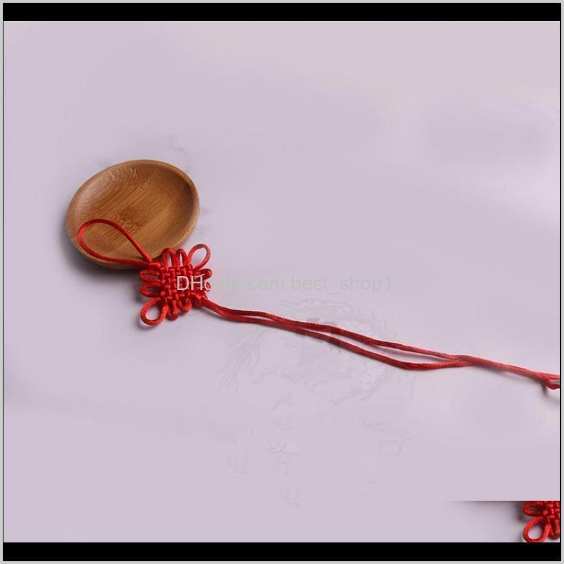 10pc mini chinese knots tassels pendant accessories home textile curtain clothing tassel handicraft rope diy decorative material h