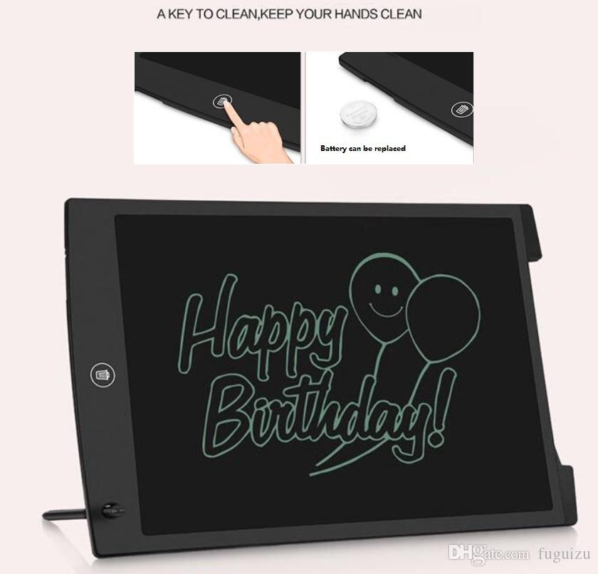 12 Inch Drawing Tablet Handwriting Pads Electronic Tablet Board With Pen for Adults Kids Children