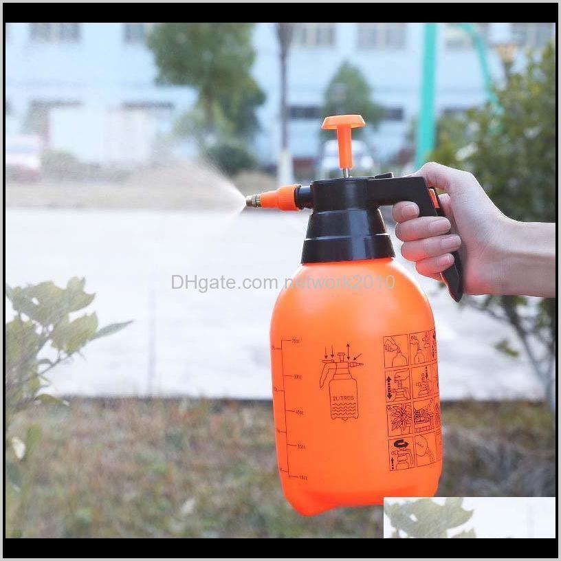 2l sprayer portable pressure garden spray bottle kettle plant flowers watering can pressurized sprayer gardening tools
