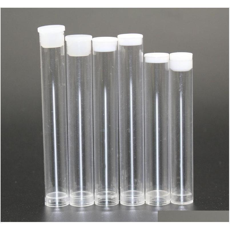 vaporizer glass cartridge pp tube 0.5ml 1ml plastic clear tube containers for cartridge bud atomizer packaging private sticker oem