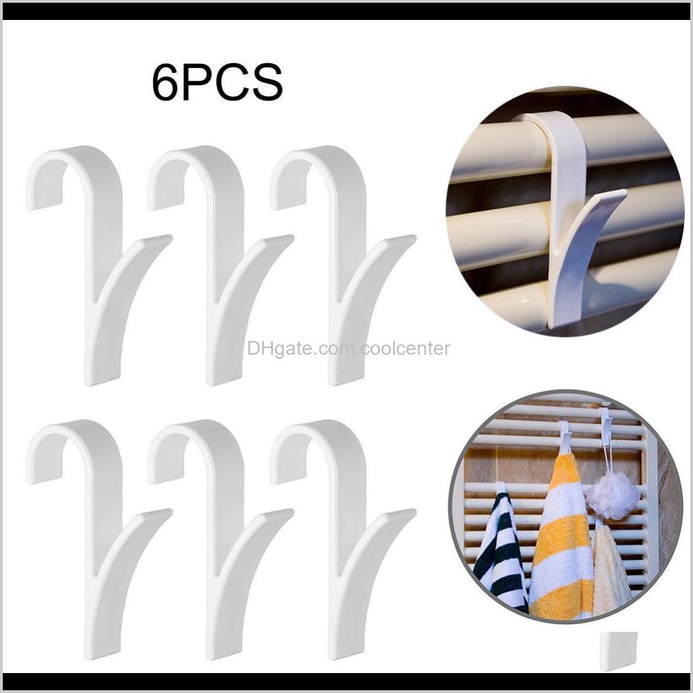 y shape hook hanger robe towel rail hook cabinet kitchen towel racks family robe hats bag key wall hanger 6 pcs