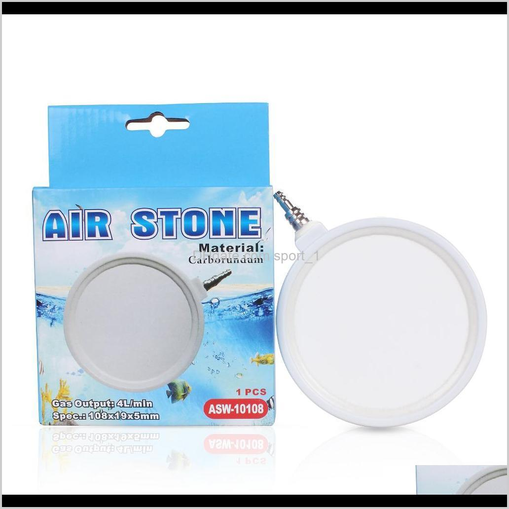 Air Stone Aquarium Round Bubble Plate