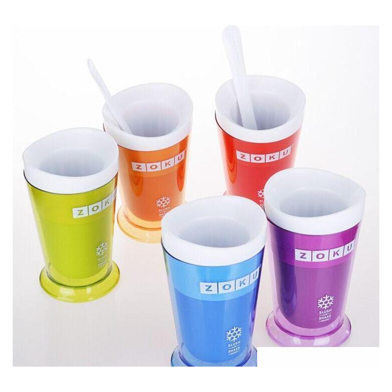 hot sale zoku slush shake maker ,the authentic home-made ice cream tools, ice cream cup, creative cup fast sea shipping dhb281