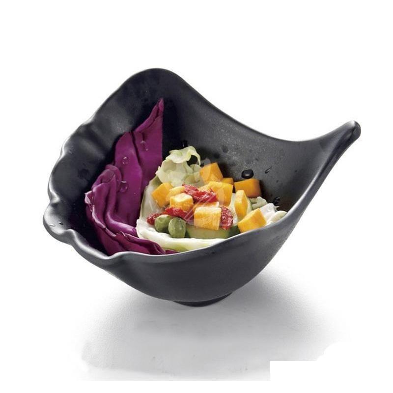 melamine dinnerware black frost oval ramen bowl korean restaurant a5 melamine big bowls melamine tableware wholesale