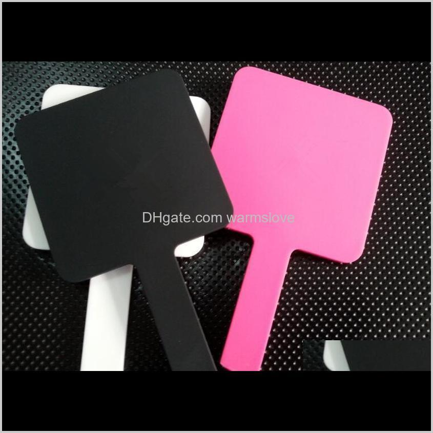 hot 3 color luxury makeup mirror mini-mirror vintage hand mirror cosmetics tools with vip gift box