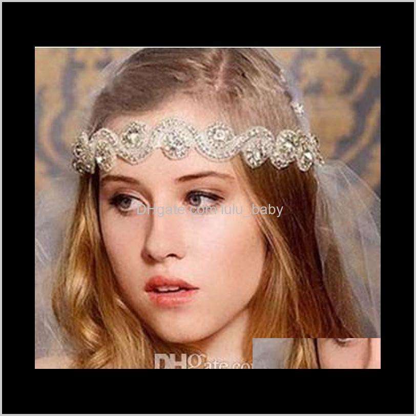 2016 vintage bridal crown tiara wedding jewelery bohemia hair accessories elegant headpieces frontlet hair band headbands