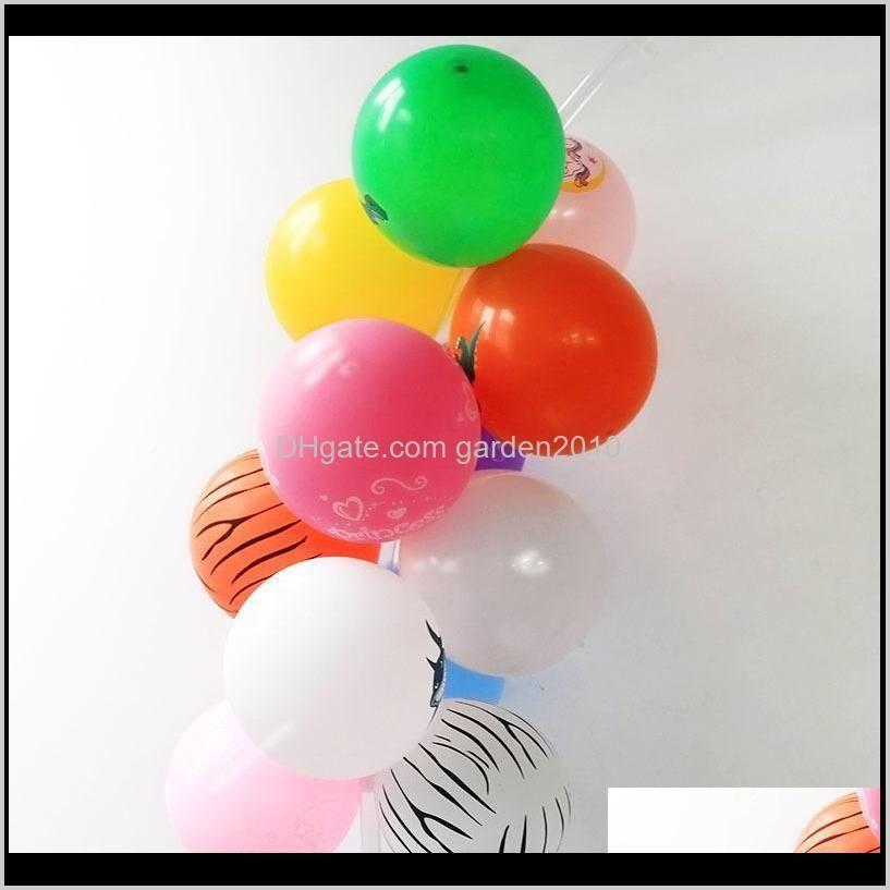 cyuan balloon arch garlands kits plastic column stand balloon box latex ballons chain clips for birthday wedding party decor 201023