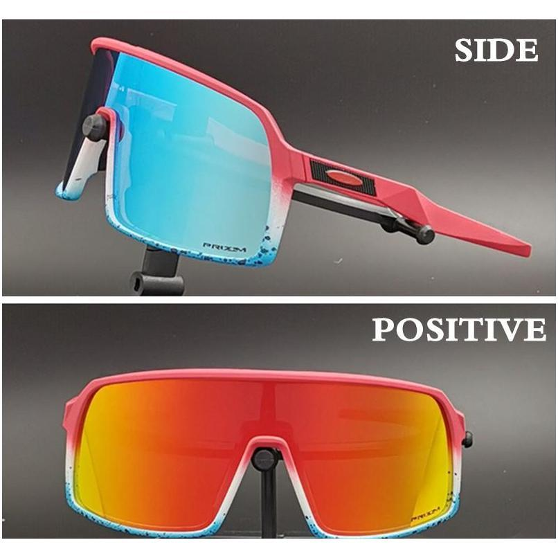 wholesale-new bicycle goggles 3 lens polarized tr90 photochromic cycling glasses golf fishing running sport men`s sunglasses