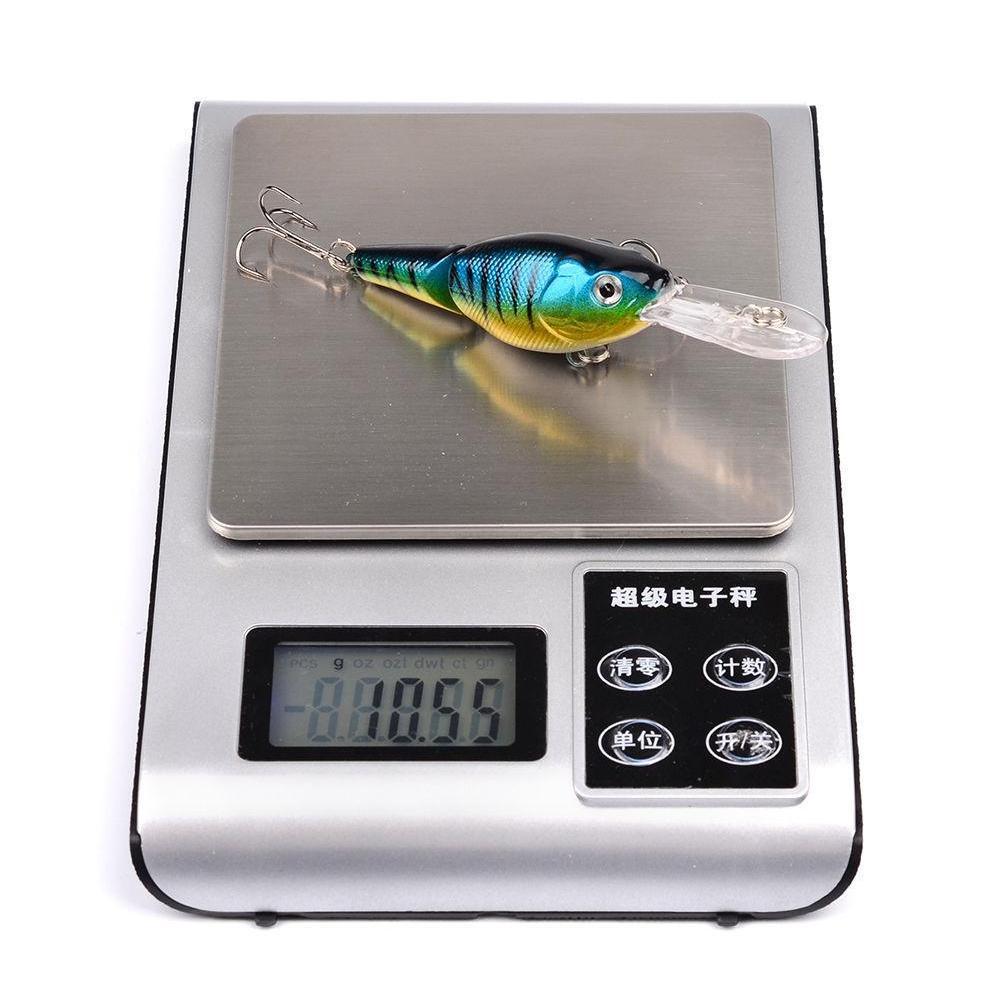 5 color 9cm 10.55g crank fishing hooks 6# hook fishing lure hard baits & lures pesca fishing tackle b14_79