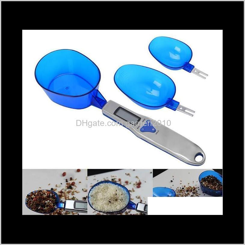 300g/0.1g 500g/0.1g three spoons electronic portable scale mini kitchen spoon weighing scales measurement & analysis instruments ha772