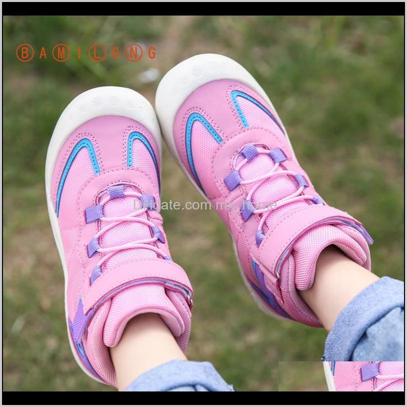 bamilong new kids fashion sneakers girls walking soft bottom sports running shoes casual high-top boys basketball sneakers b292 201120