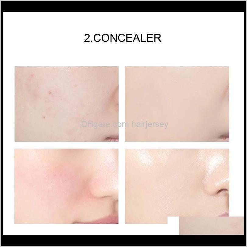 24k moisturizing liquid foundation cream makeup beauty waterproof long lasting nature base full concealer