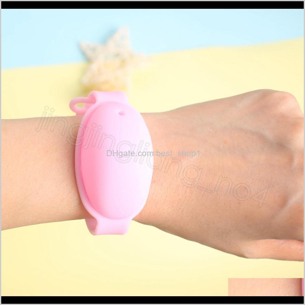 hand sanitizer bracelet dispenser sanitizer liquid silicone refillable wristband wearable sanitizering portable travel gel holder