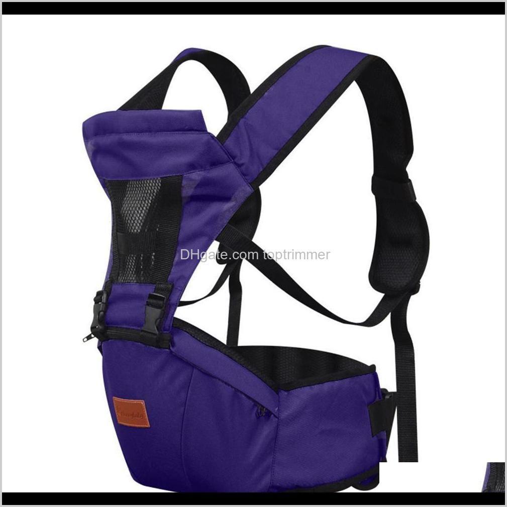 kuulee front holding backpack hands waist stool shoulders strap outdoor hip seat adjustable multifunctional baby carrier j1215