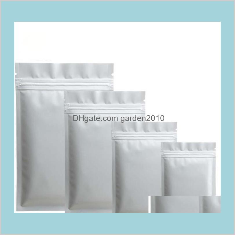 Black Plastic mylar bags Aluminum Foil