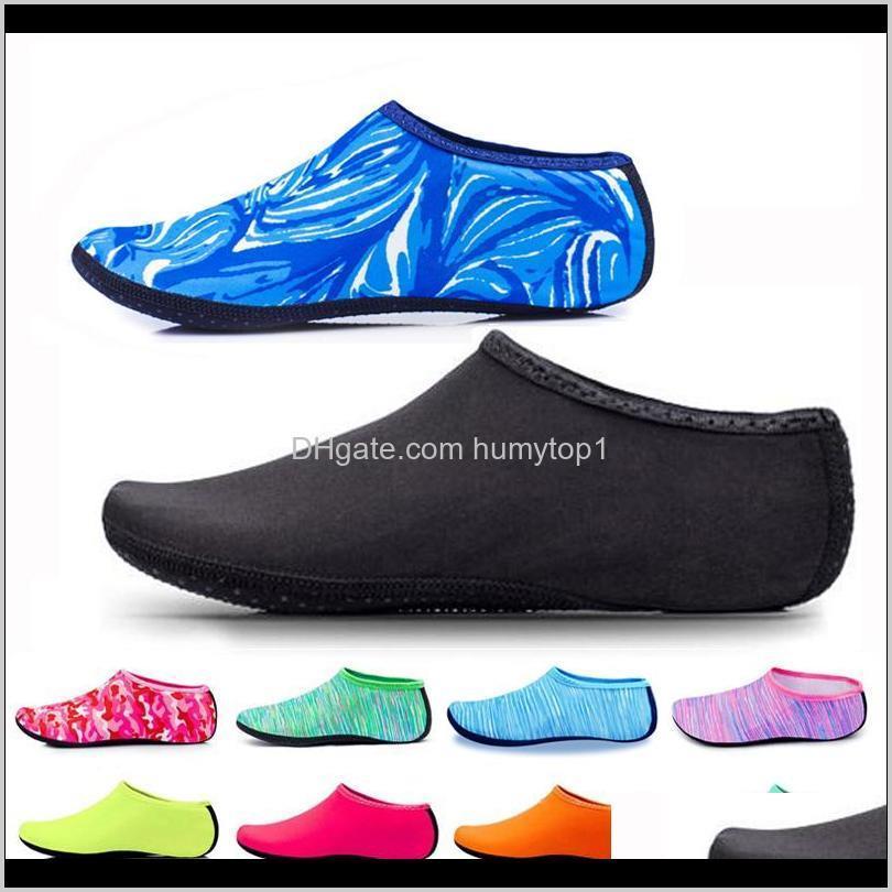2021 men beach striped socks women kid swimming water sport barefoot sneaker gym yoga fitness dance swim surfing diving snorkeling