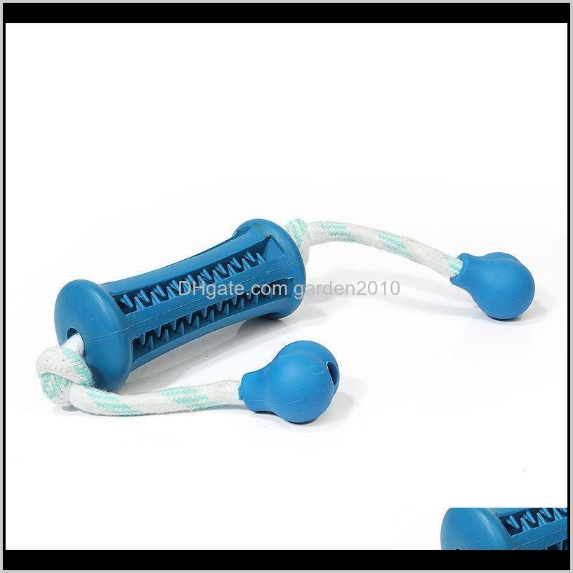 multi pet rubber odontoprisis clean teeth stick interactive toys stringing resistance to bite dog cat toys & chews dog pet supplies