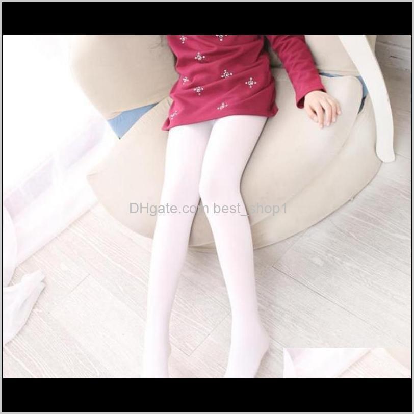 children girls pantyhose ballet dance tights velour elastic kids leggings solid girl dance stockings kids clothing 19 colors dw5927