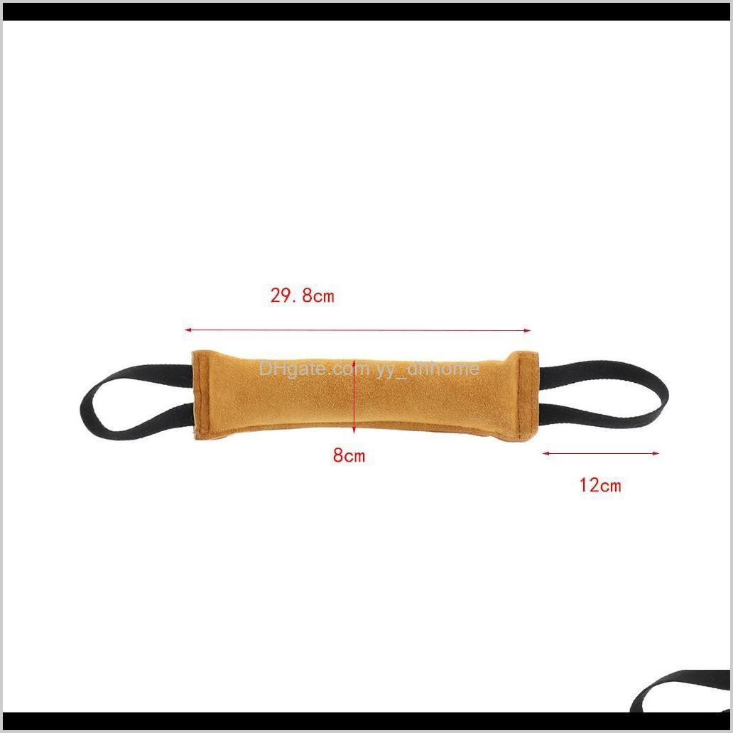 outdoor dog training bite resistant tug toy pet chew stick toy