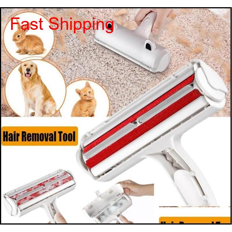 pet hair remover roller pet puppy cleaning brush dog cat hair sofa carpet cleaner brushes furniture lint pet hair remover