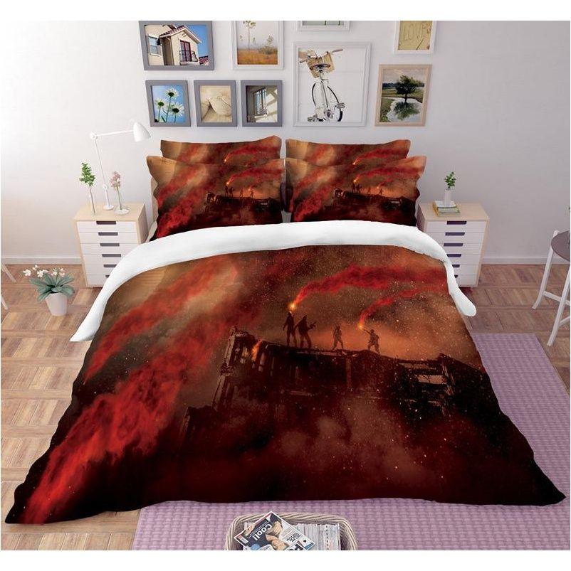 godzilla 3d bedding set duvet covers pillowcases comforter bedding sets gojira king of monsters bedclothes bed linen bed set