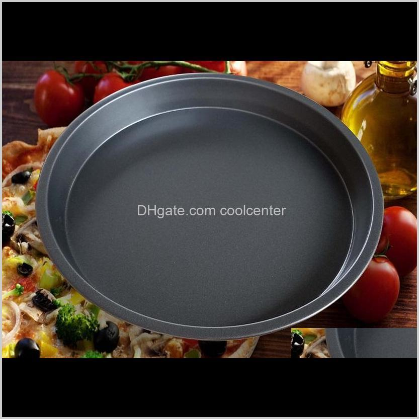 carbon steel non-stick pizza baking dishes 6