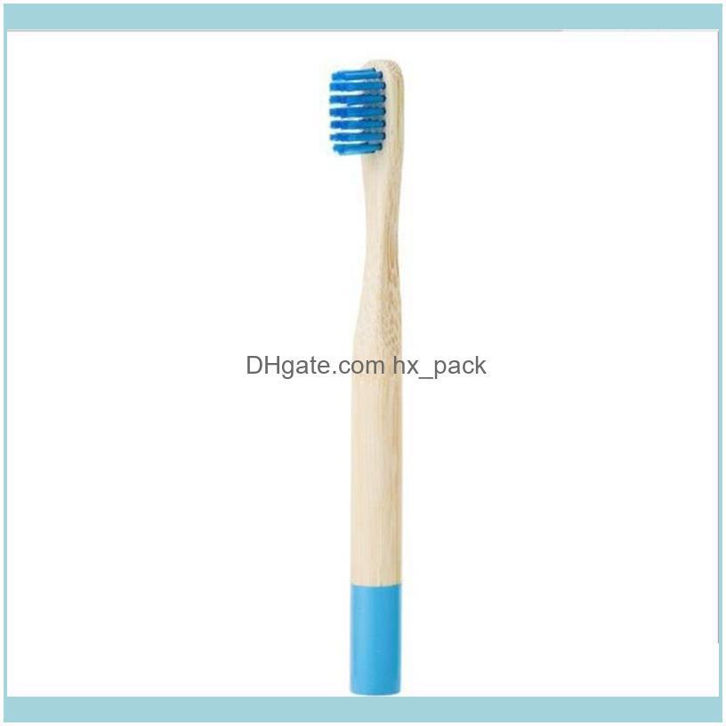 Children Bamboo Toothbrush Natural Eco Bamboo