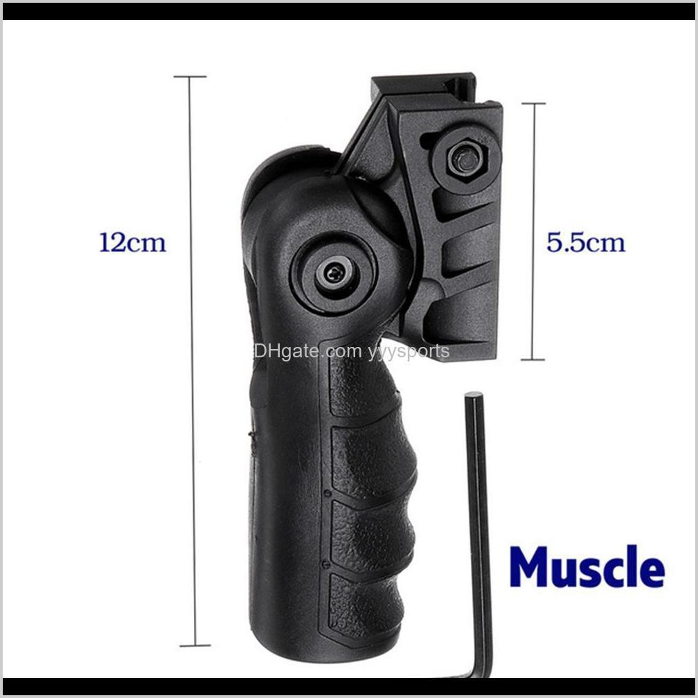 new abs tactical foregrip handle grip for jinming 8th gel ball game water for toyguns accessories