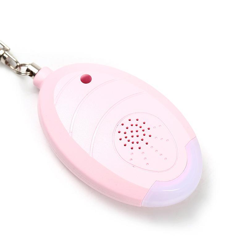 Ev Kendini Savunma Alarmı 130db Yumurta Şekli Kız Kadınlar Güvenlik Koru Uyarısı Kişisel Güvenlik Çığlık Yüksek Soygun Anahtarlık Acil Alarmlar