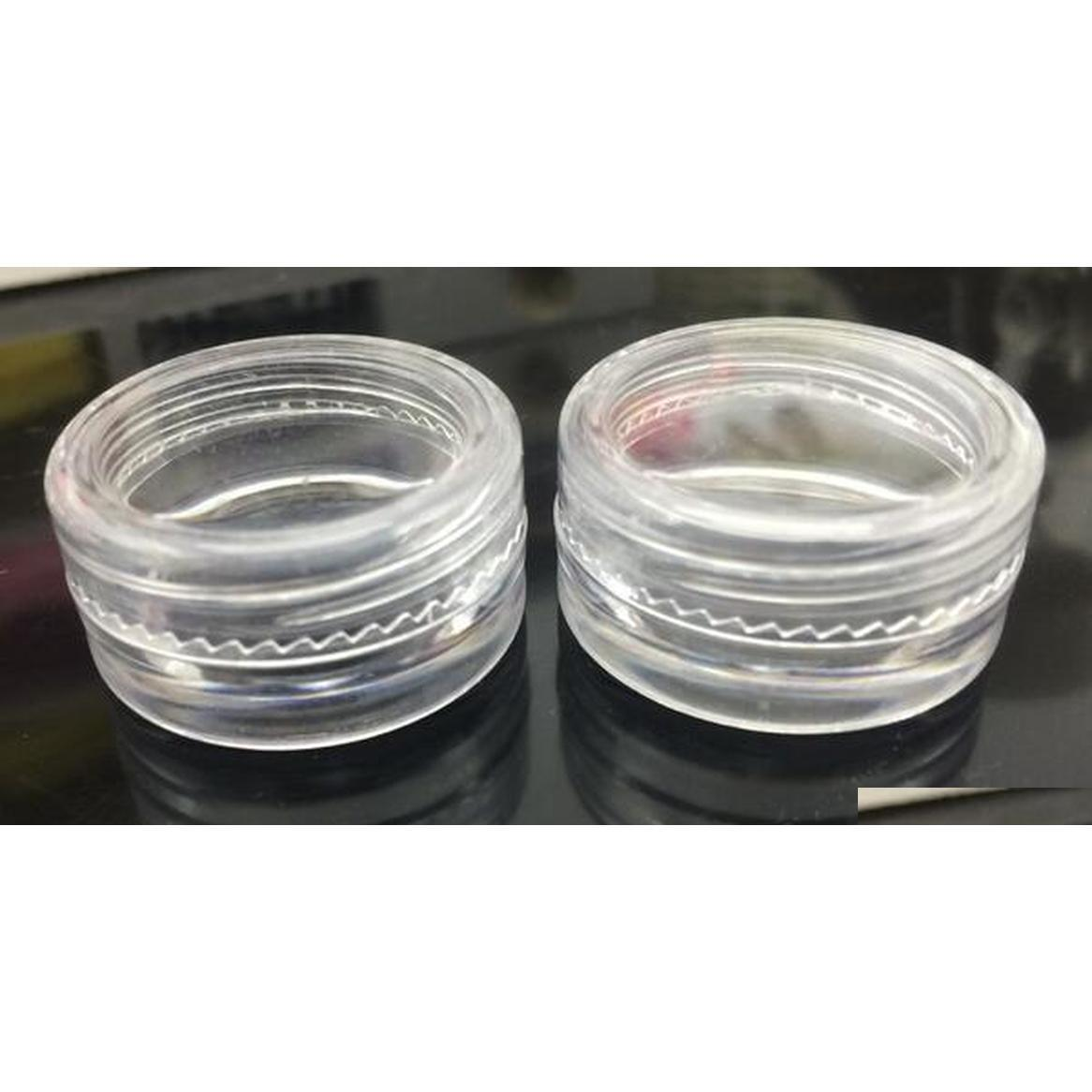 5ml clear fda approved plastic jars container for wax jars dab wax container cheap hot selling china product