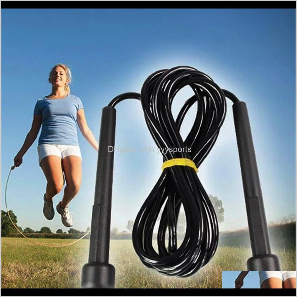 high-quality adjustable length single jump rope for sports fitness