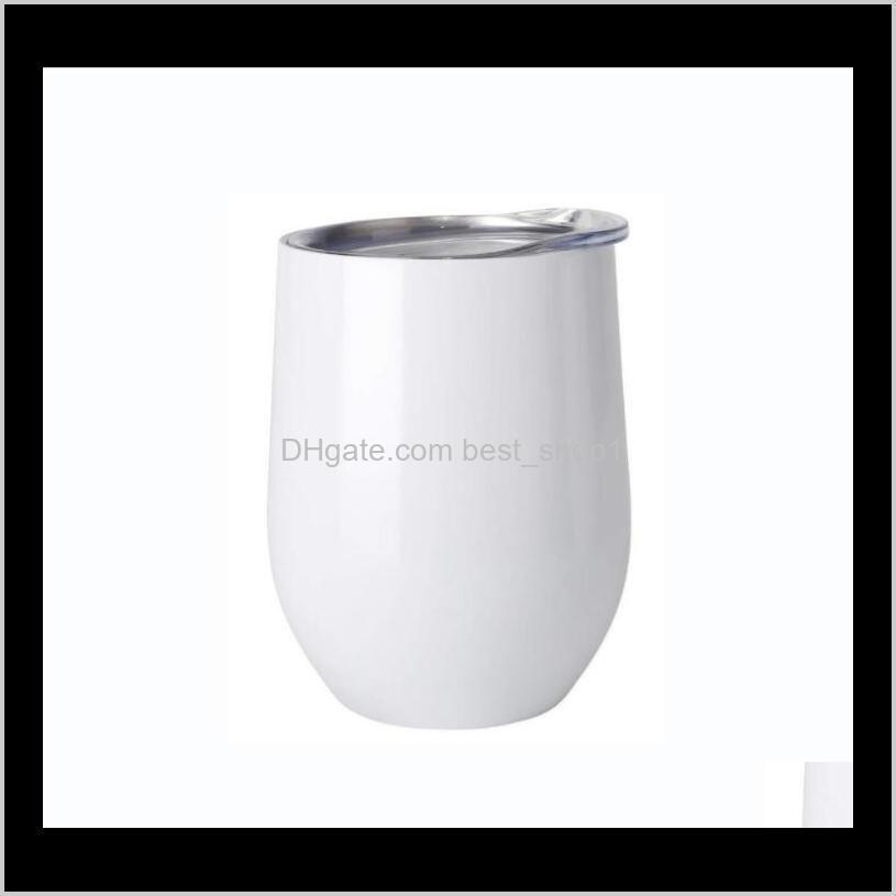 diy sublimation tumbler egg shaped thermos double walled stainless steel thermos vacuum insulated cups tumbler 12oz wine tumbler sea