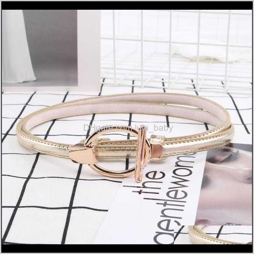 s1449 women`s dress dress sweater decoration belt faux patent leather belt thin casual faux leather belts