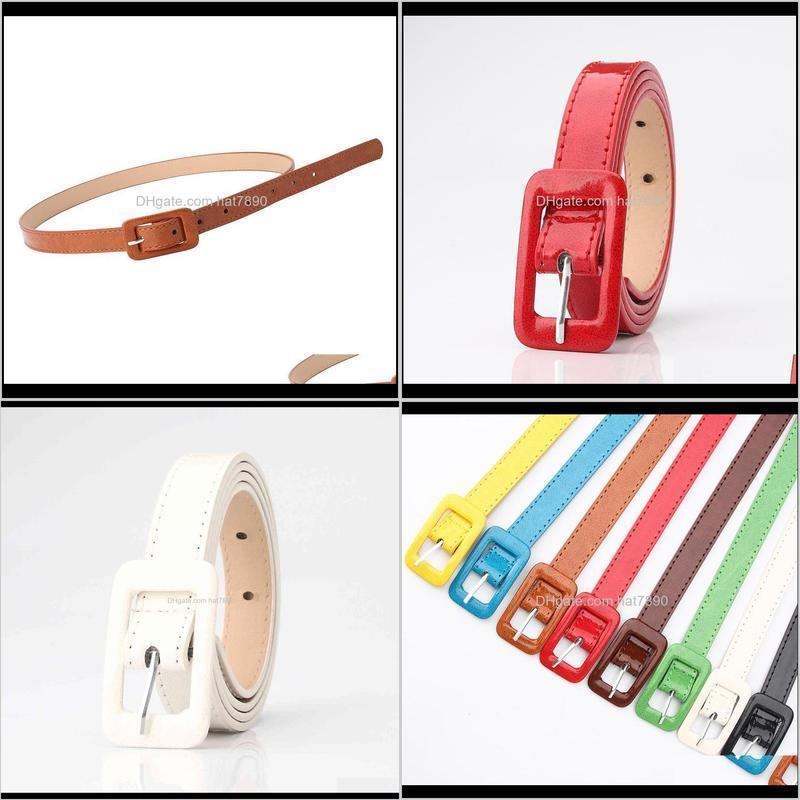 Designers19 New Arrivals Time-Limited Womens Patent Leather Belt Simple Korean Fashion All-match Decorative Sweater Dress Belt Womens Fine