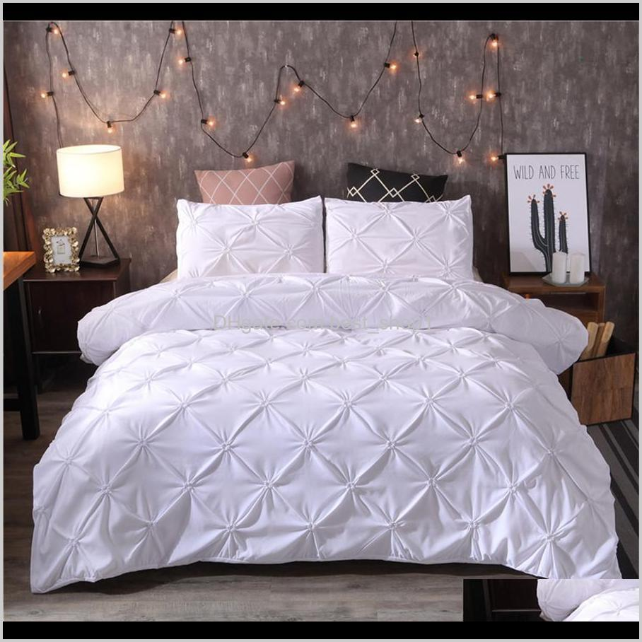 luxury black duvet cover pinch pleat brief bedding set queen king size 3pcs bed linen set comforter cover set with pillowcase45
