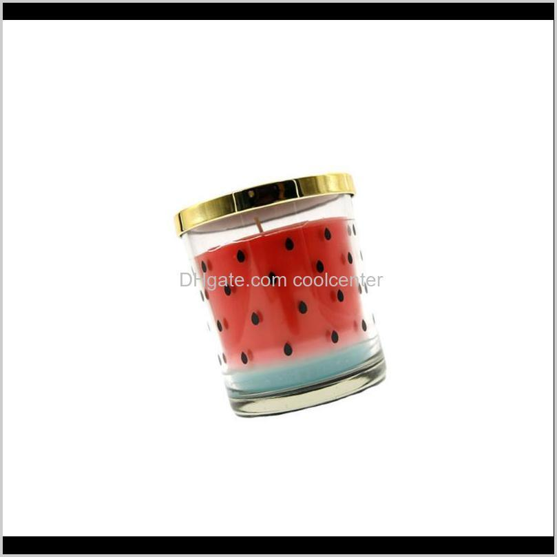 1pc fruit smokeless scented candles natural essential oil candle scented fruit shaped candles practical household supplies for