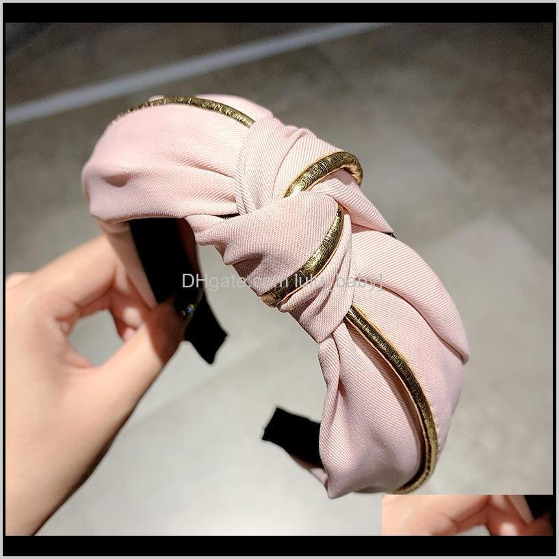 10pcs/lot wide side non-slip hair band small fresh and sweet girl washing face headband out all-match headband hair accessories
