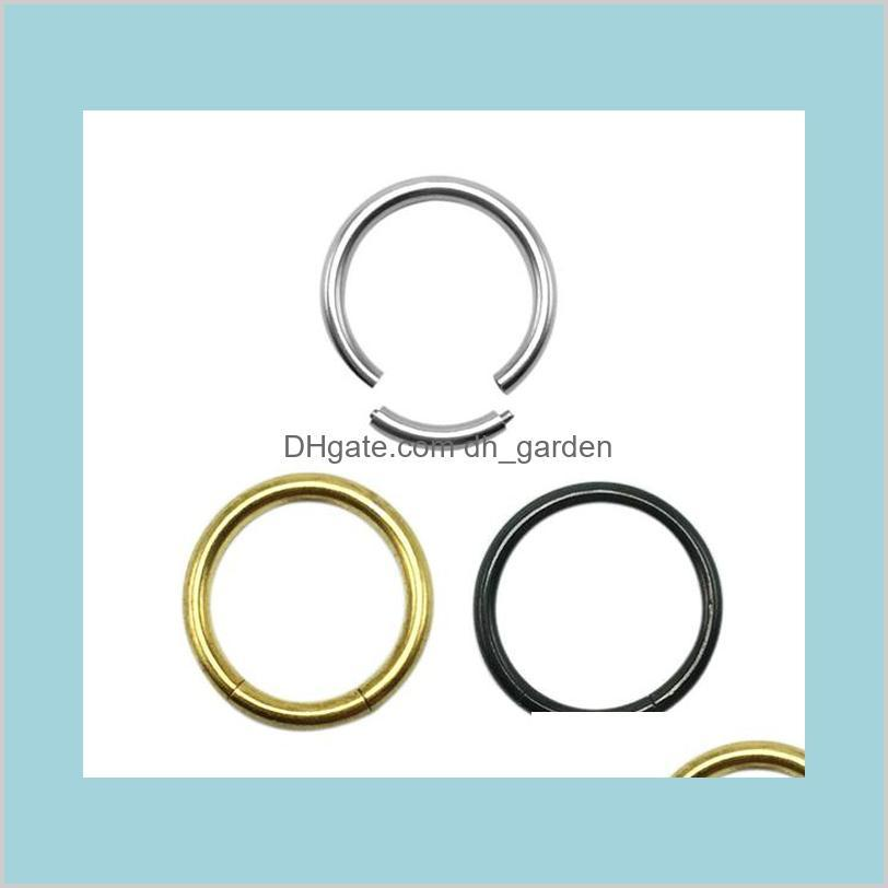 nose ring european and american nose ring piercing hypoallergenic titanium steel nose stud rings geometric male and female ps2717