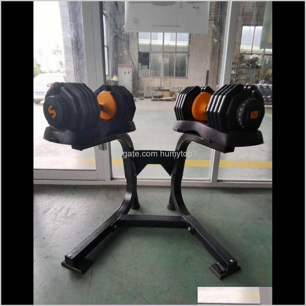 New popular 55.2lb adjustable dumbbell set 25kg household fast automatic High quality dumbbells Fitness equipments