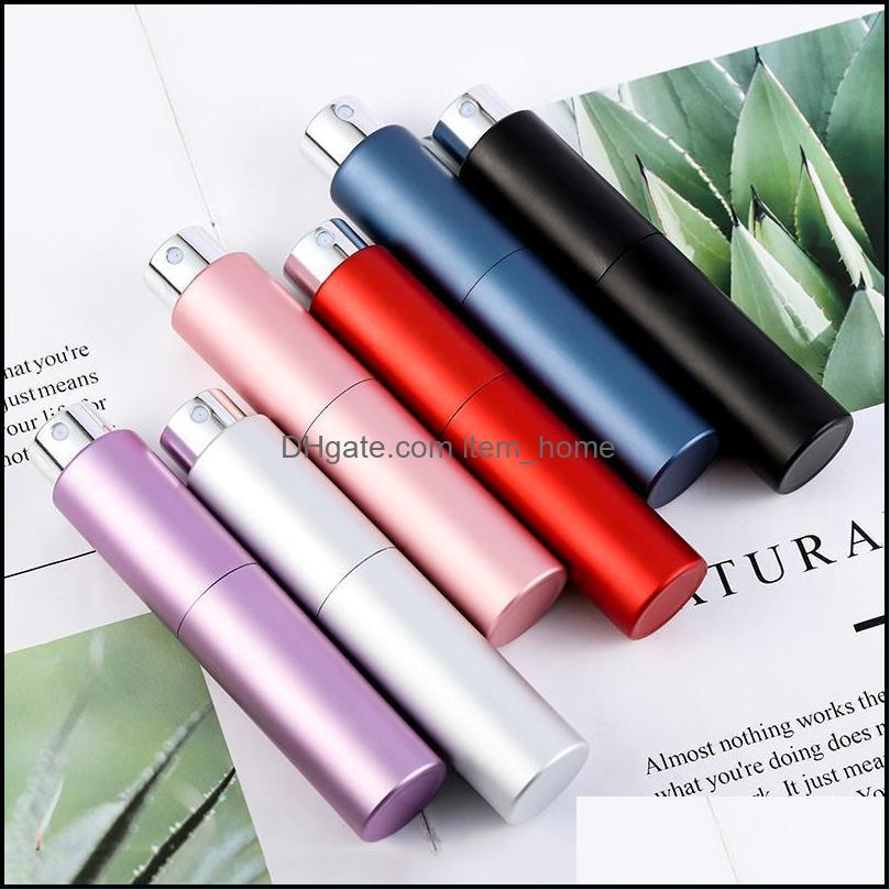Portable Mini Refillable Perfume Bottle For Travel Cosmetic Spray Containers With Scent Pump Empty Storage Bottles & Jars