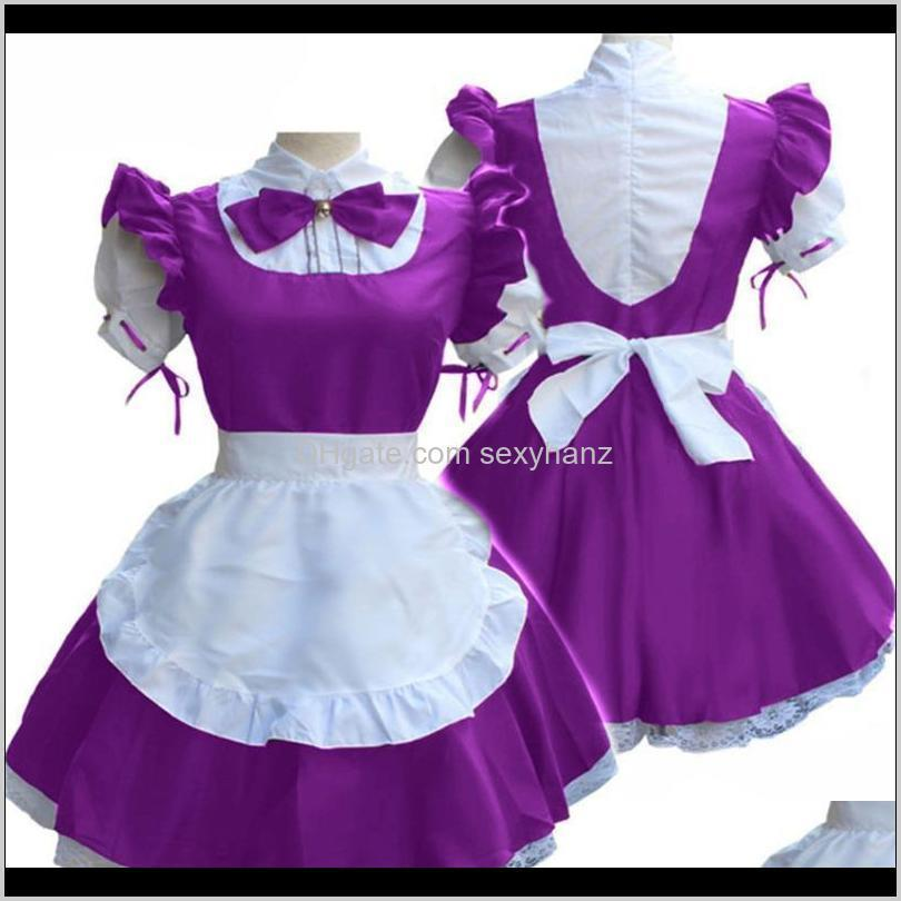 new japanese anime maid wear halloween medieval cosplay costumes for women court party clothing carnival festival retro dress