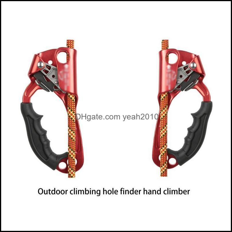 Cords, Slings And Webbing Outdoor Sports Rock Climbing Arborist Hand Ascender Device Mountaineer Handle Rope Tools For 8-12mm
