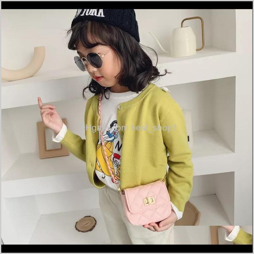 ins korean mother and me kids toddler girls pu purse spring autumn fashions girls solid handbag children one-shoulder bags